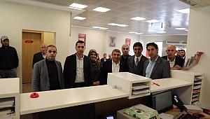 AK Parti Dilovası'da kampanyaya destek verdi