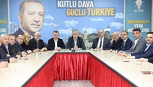 AK Parti şehitlerimiz için tek yürek oldu