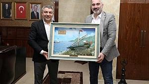 Başkan Şayir, Yıldırım'ı ağırladı