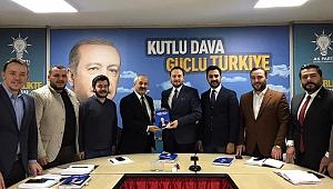 Büyükgöz, AK Genç başkanlarıyla bir araya geldi
