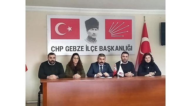 CHP Gebze'de delegeler il kongresi için toplandı