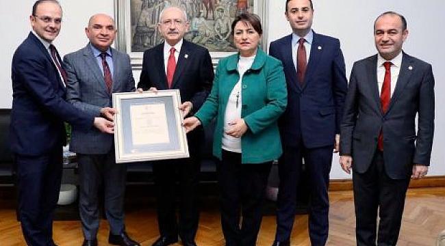 Gebze bölgesi kriz raporu Kılıçdaroğlu'na verildi
