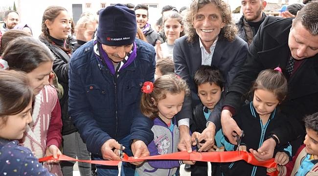 Gebzespor'dan Kütüphane Açılışı