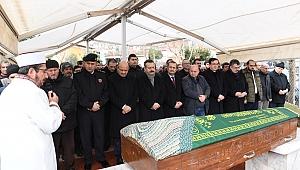 Işık'ın halasının cenaze töreni yapıldı