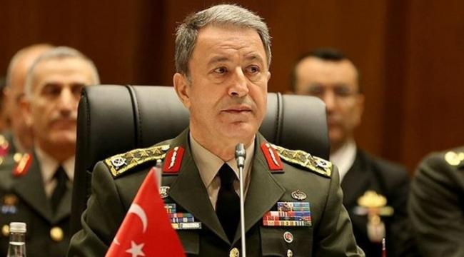 Milli Savunma Bakanı Akar'dan flaş açıklama