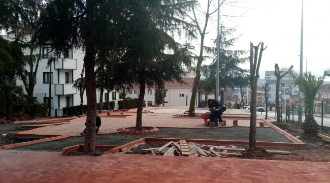 Mimar Sinan Parkı Yenileniyor