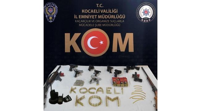Silah kaçakçılarına 6 ilde operasyon: 3 tutuklama