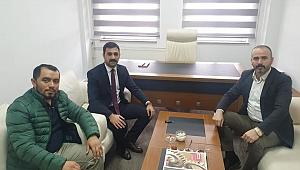 Yılmaz'dan Cengiz Gürkan'a vefa ziyareti