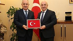 Başkan Bıyık, Aygün'ü ağırladı