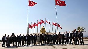 Darıca'da yeni tören alanı açıldı