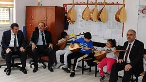 'Gören Eller' sınıfında engelleri müzikle aştılar