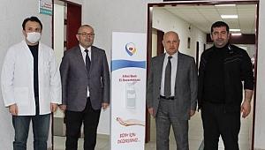 GTO sağlık çalışanlarının yanında