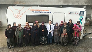 Kandıra köy halkı, kanser taramasından geçti