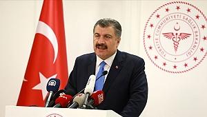 Sağlık Bakanı Koca Türkiye'de ilk koronavirüs vakasının görüldüğünü açıkladı