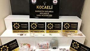 Süt kutusundan binlerce uyuşturucu hap çıktı; 9 gözaltı