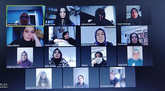 AK Kadınlardan haftalık iletişim toplantısı