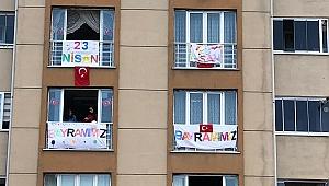 Barış mahallesinde 23 Nisan coşkusu