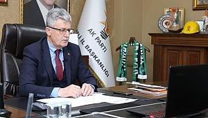 Ellibeş, İl Başkanları toplantısına katıldı