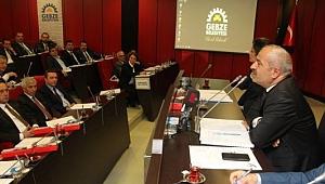 Gebze Belediyesi meclis toplantısını iptal etti