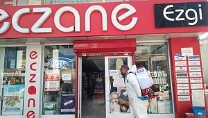 Gebze'de Dezenfekte Çalışmaları hız kesmiyor