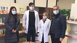 GTO'dan vatandaşa yardım, sağlık çalışanlarına maske