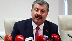 Sağlık Bakanı Fahrettin Koca: Artan test sayısına göre vaka sayısında düşme seyrediyor