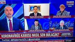 Vali Aksoy'a Habertürk'te tebrik