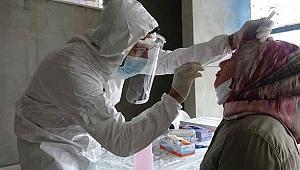 Gazi asker, koronavirüsle mücadelede ön safta!