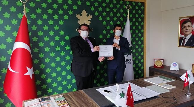 Gelecek Partisi Darıca'ya Murat Sarı atandı