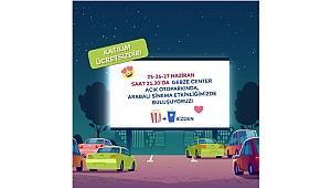 Açık Hava Sineması şimdi Gebze Center'da!
