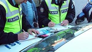 Kocaeli'de 1 yılda kesilen trafik cezası!