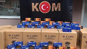 Kocaeli'de binlerce kaçak sigara ele geçirildi!