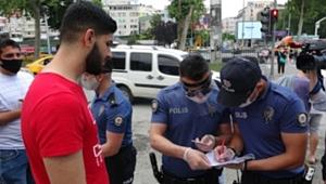 Maske takmadığı için kaç kişiye ceza kesildi!