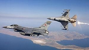 Türk ve İran savaş uçakları peş peşe havalandı!