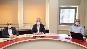 Başkan Büyükgöz'den İl Başkanı Ellibeş'e hizmet sunumu