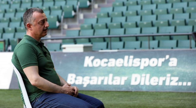Büyükakın ''Kocaelispor kimsenin iz düşümü olmamalıdır''