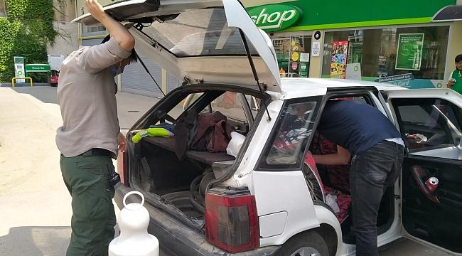 Düzce'de hırsızlık yapan kişiler Kocaeli'de yakalandı