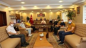 GEGACE'den Başkan Bıyık'a ziyaret