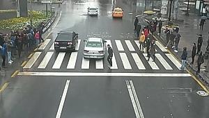 'Güvenli trafik için elele'
