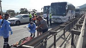 Kocaeli D-100 karayolunda zincirleme kaza: 5 yaralı