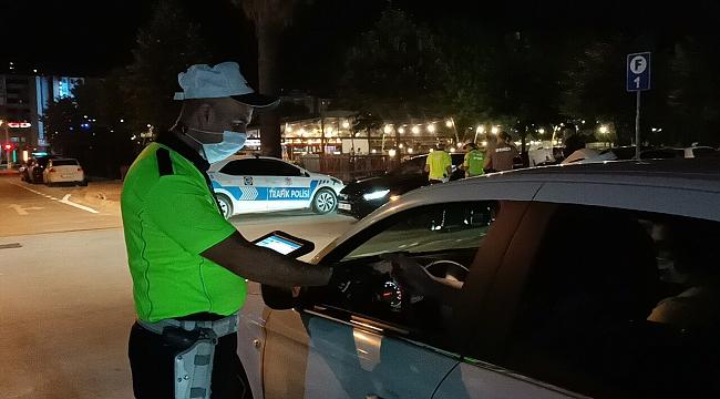 Kocaeli'de 8 alkollü sürücüye 24 bin 150 TL ceza