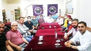 Saadet Çayırova STK ziyaretlerinde