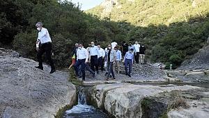 Büyükakın'dan Ballıkayalar Tabiat Parkı'na özel ilgi