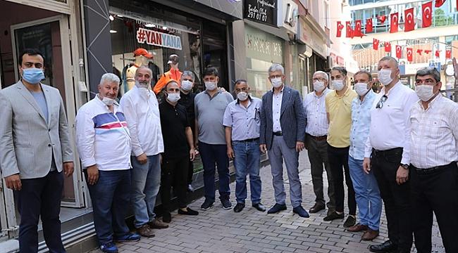 Ellibeş'ten Alemdar Caddesine baklavalı ziyaret