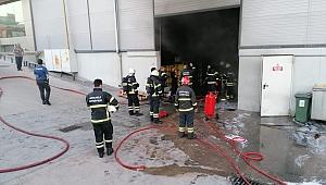 Gebze'de, yağ fabrikasında korkutan yangın