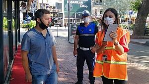Hürriyet ve Cumhuriyet caddesi için trafik etüdü ve anket çalışması