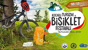 'Kocaeli Turizm ve Bisiklet Festivali' için geri sayım başladı