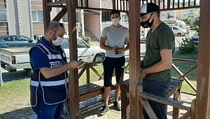 Korona tedbirlerine uymayan 211 kişi ceza yedi