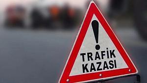 TEM'de feci kaza : 1 ölü 2 yaralı