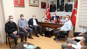 Başkan Bıyık'tan MHP'ye ziyaret